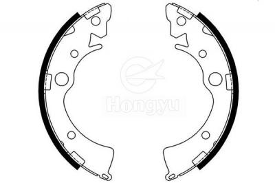 S639 Semi-Metallic Brake Shoes